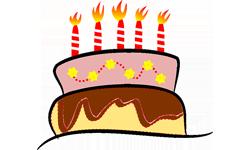 Soirées FUN Perpignan : gâteau d'anniversaire